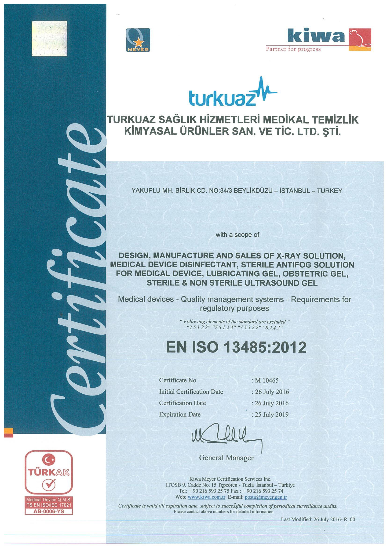 certificate 3 min