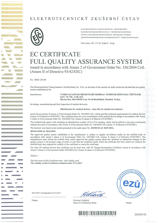 certificate 6 min